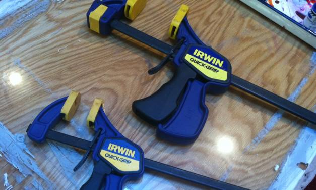 Favorite Studio Tools: Bar Clamps