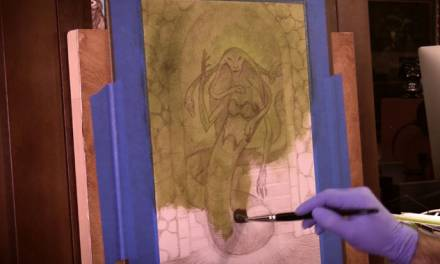 Art Tip of The Month #5: Saving Time Using Oil Paper