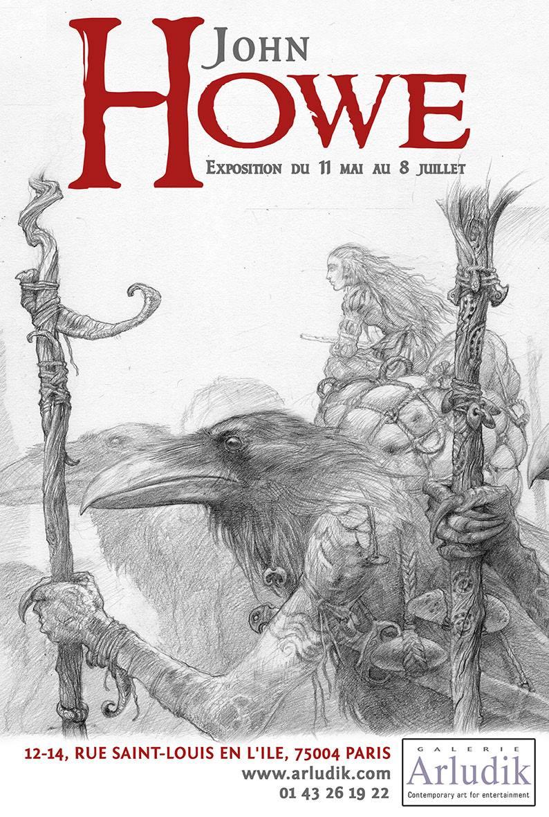 John Howe – Drawings