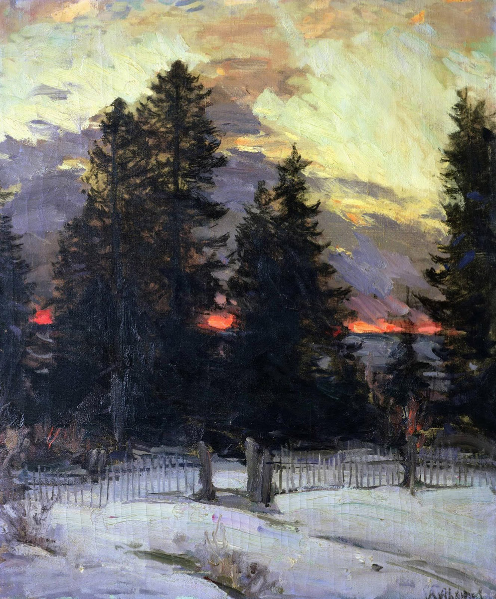 Perfect Passage: Winter Paintings