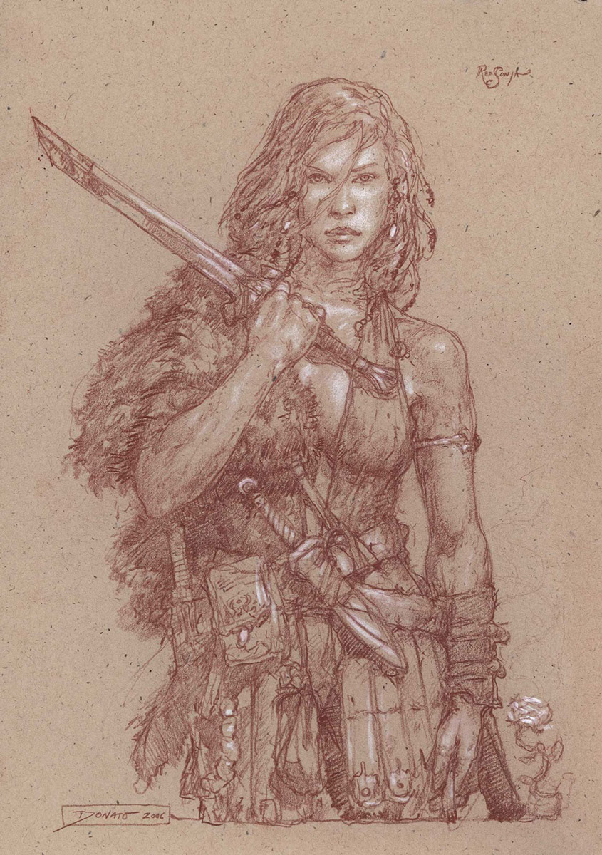 Red Sonja and the San Diego Comic-Con