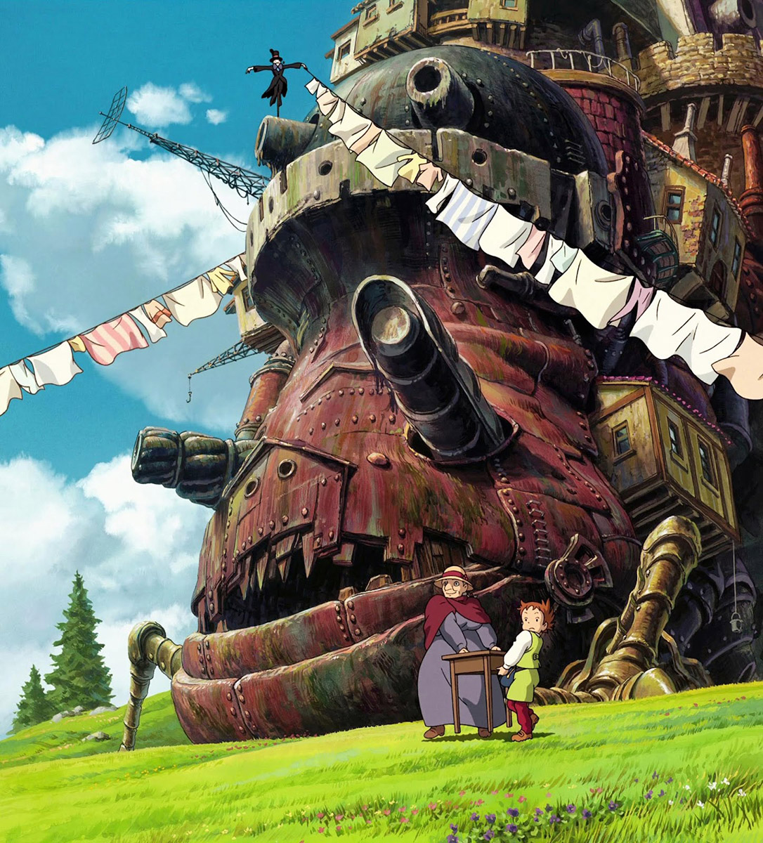 100 Ghibli Paintings