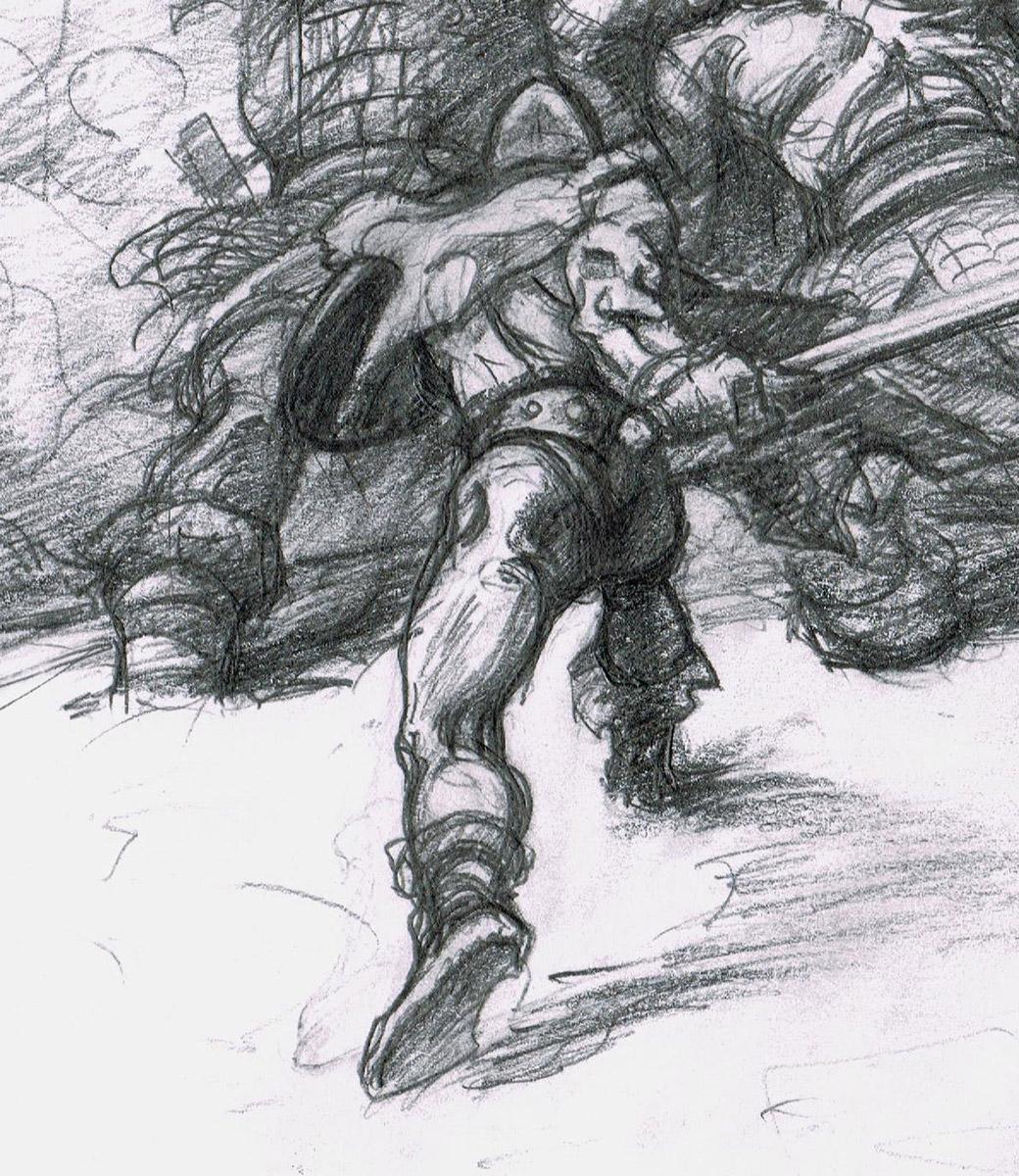 Conan commission, part 3