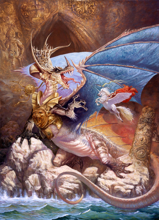 Dragon, Draco, Draak, Azhdaha, Zmay