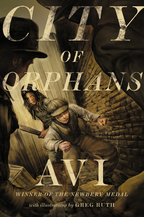 COVERING A BOOK: Avi's City of Orphans