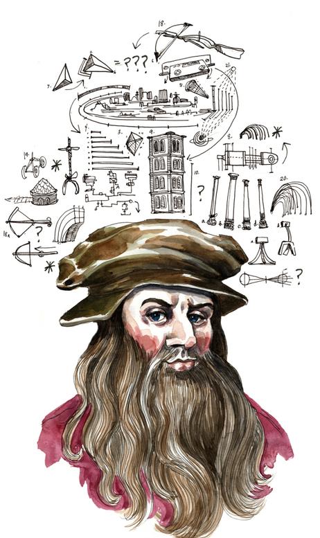 Da Vinci and Attention Deficits