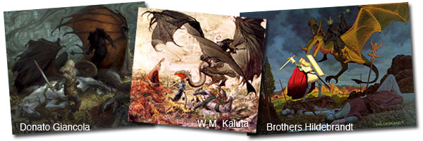 Eowyn and the Nazgul… The Art Order Challenge!
