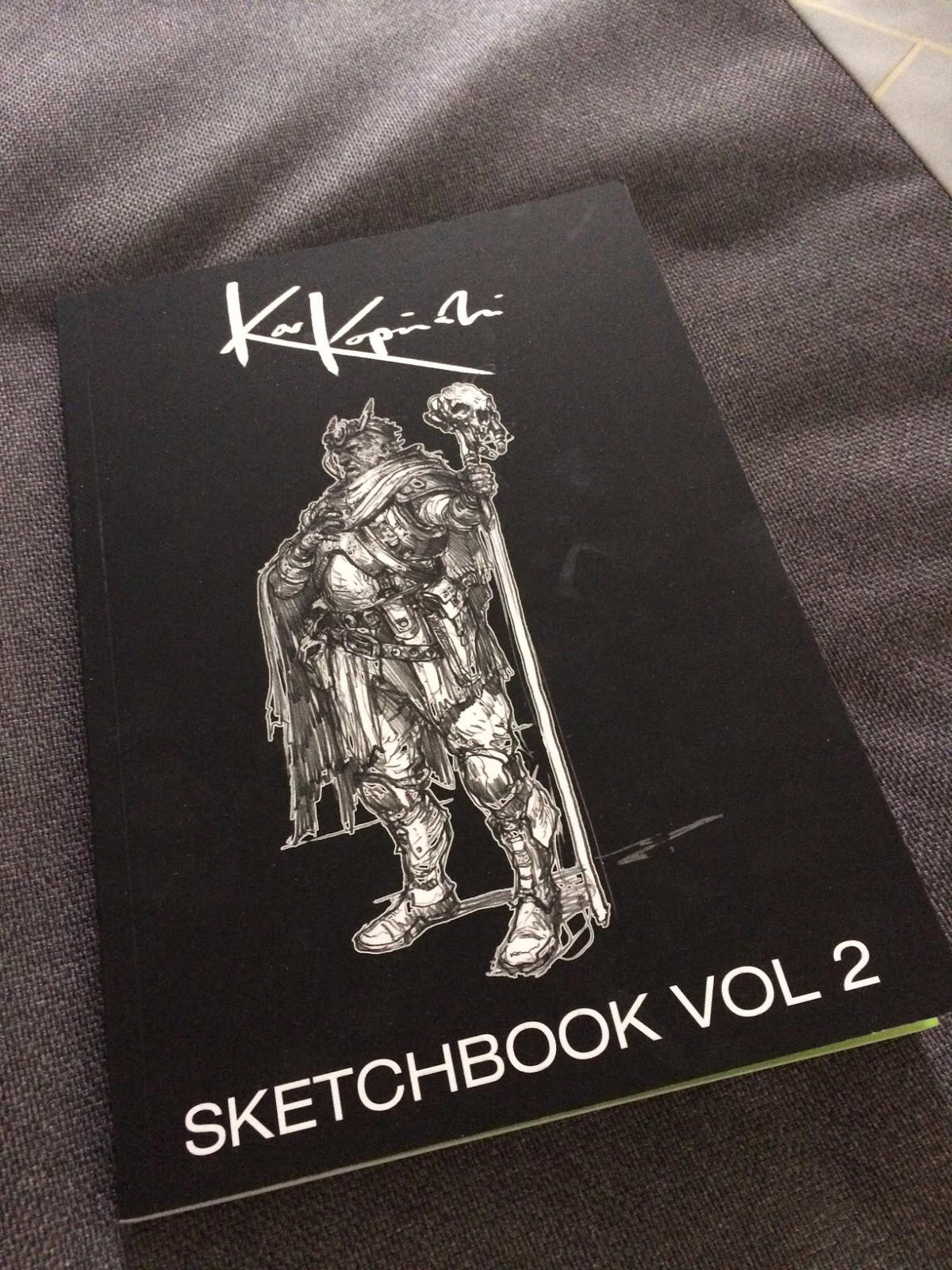 Kopinski sketchbook 2
