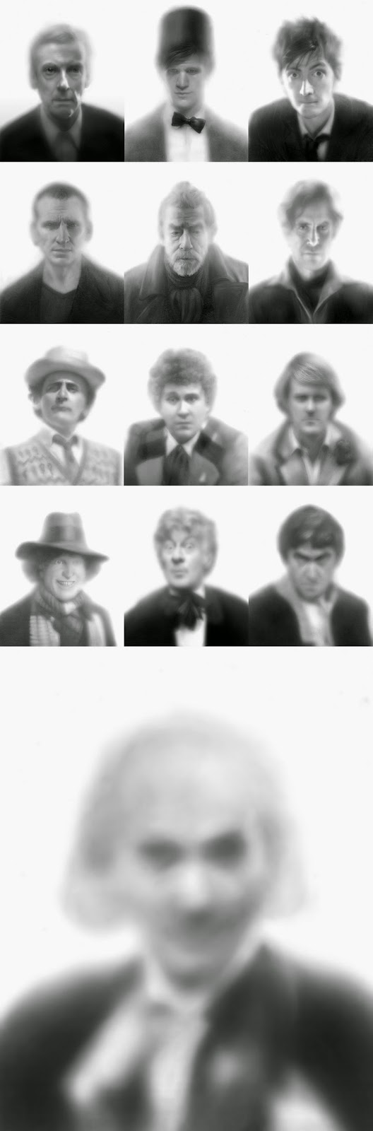 The 13 DOCTORS (a 52 Weeks Project series)