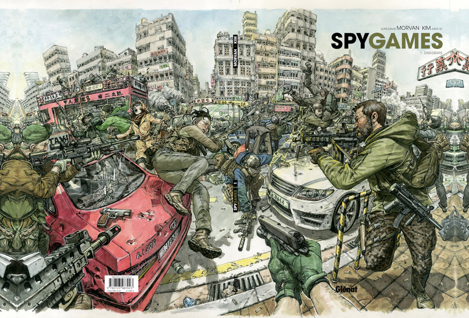 Kim Jung Gi – Spy Games
