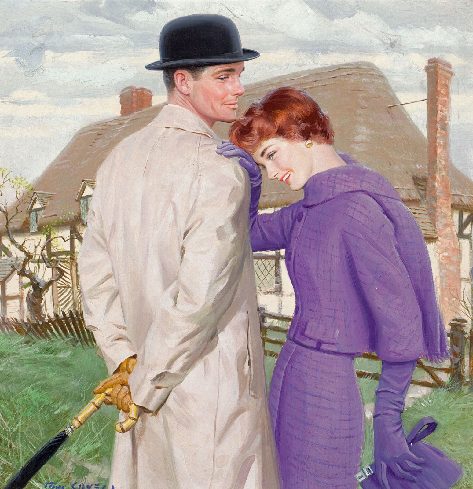 The Brilliant Tom Lovell Muddy Colors