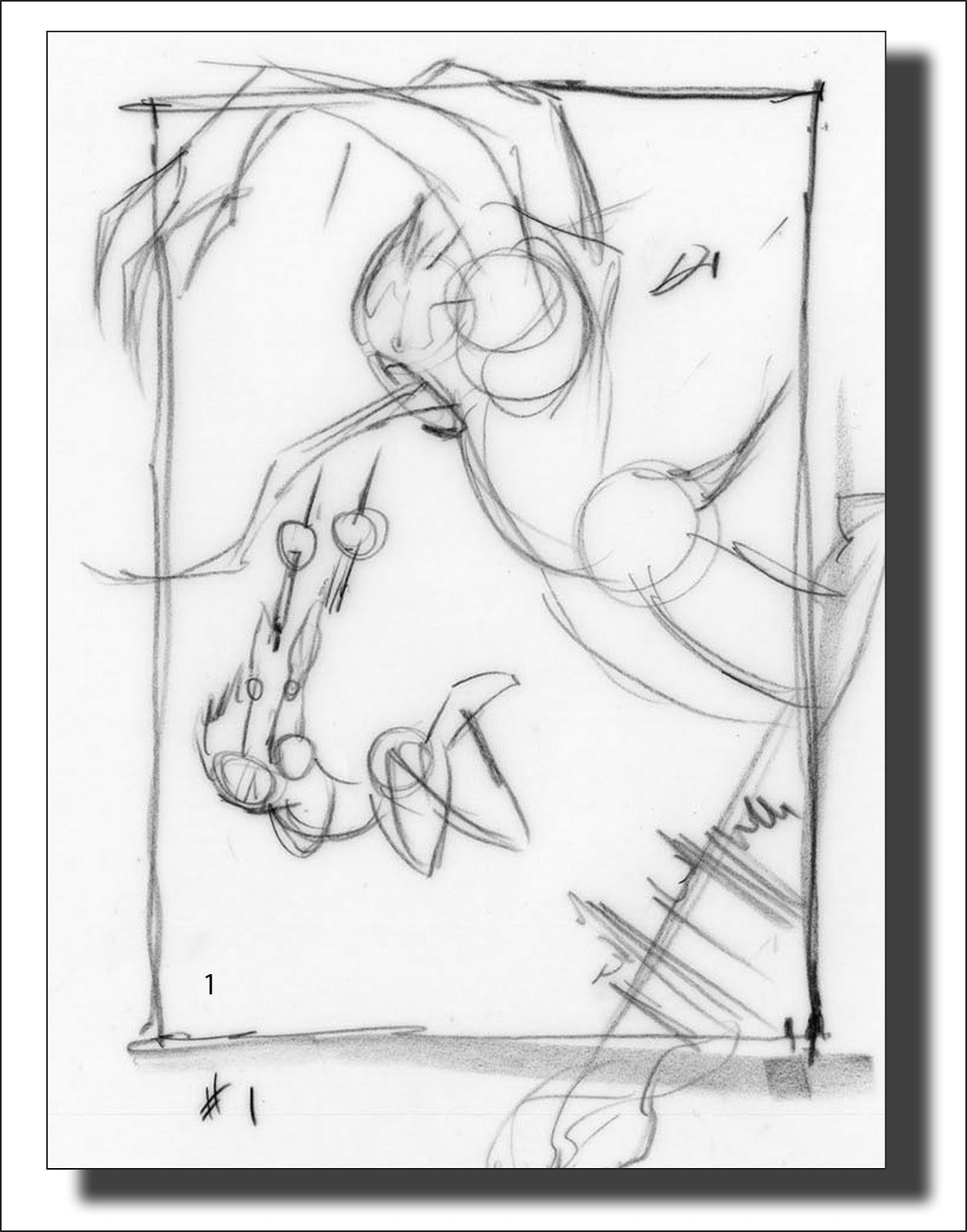Sketching Resident Evil
