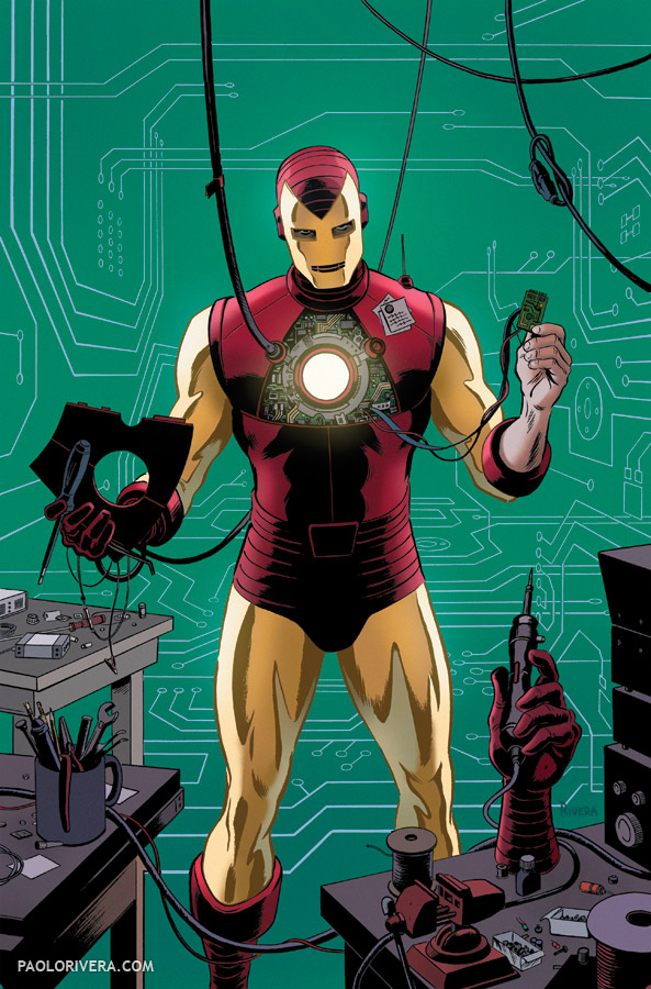 Iron and Spider Men