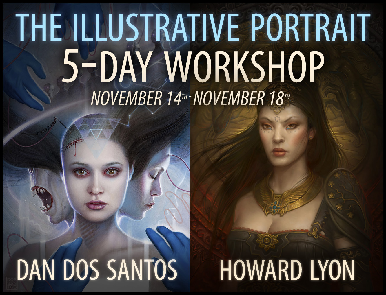 The Illustrative Portrait Workshop