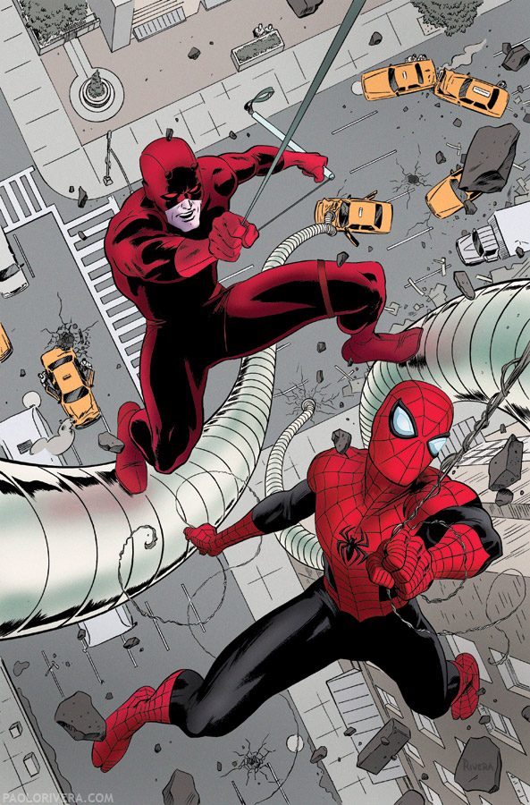 Daredevil #22 Time Lapse
