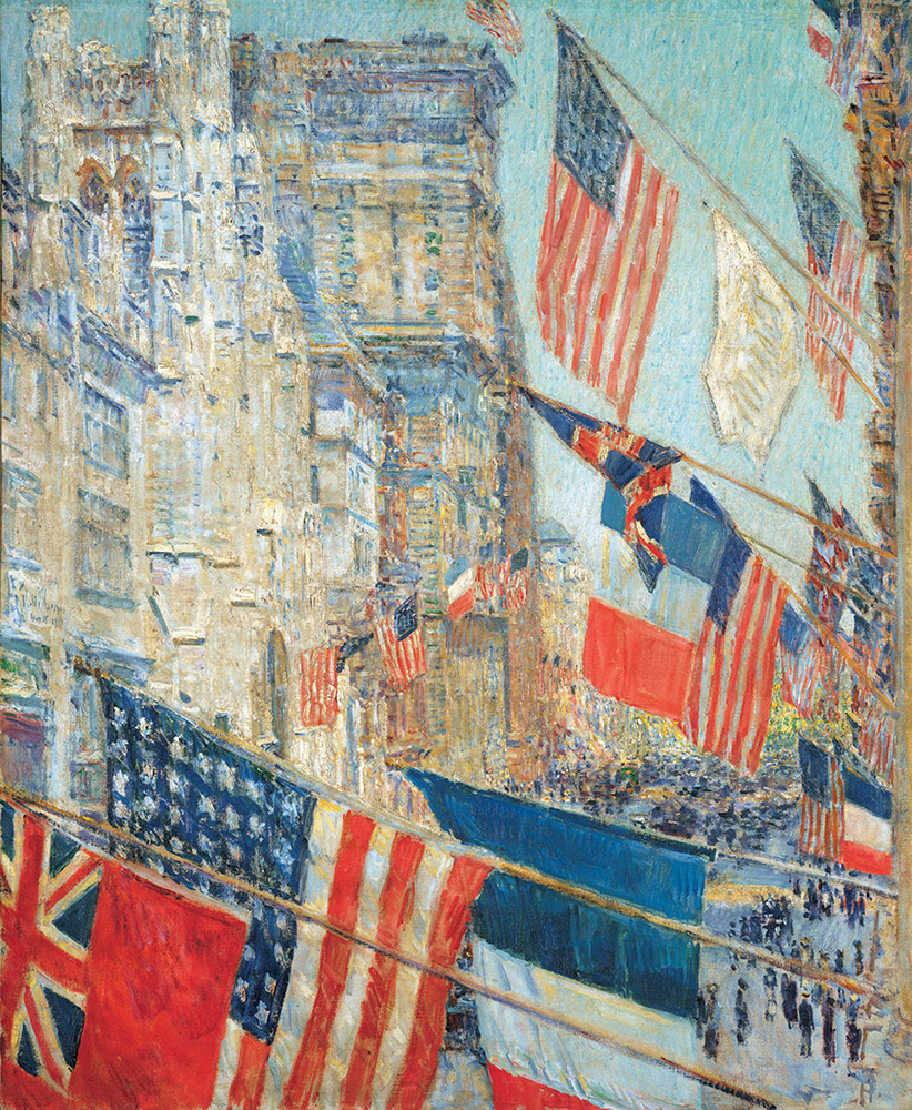Childe Hassam – Independence