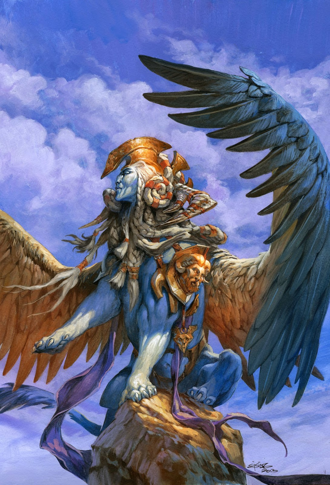 Sphinx Token art