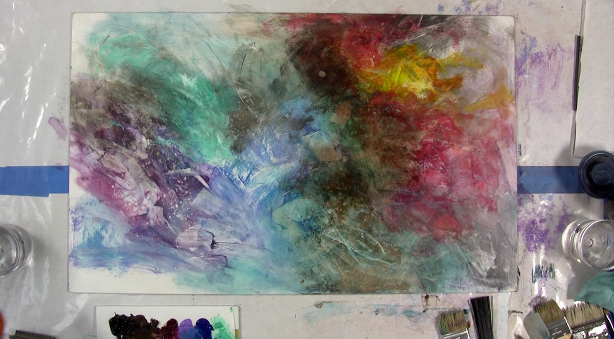 End of the Year Collaborative Paint Jam