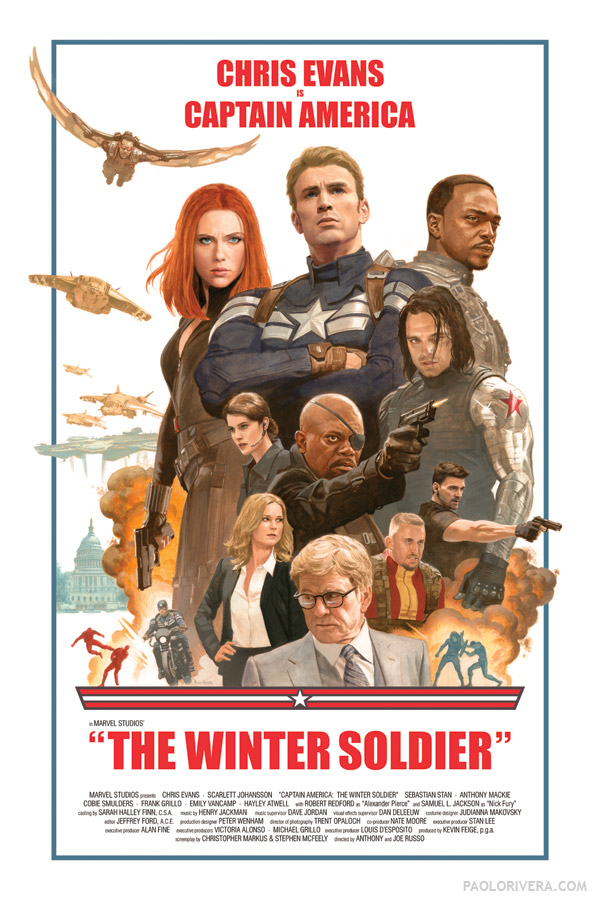 The Winter Soldier: Time Lapse