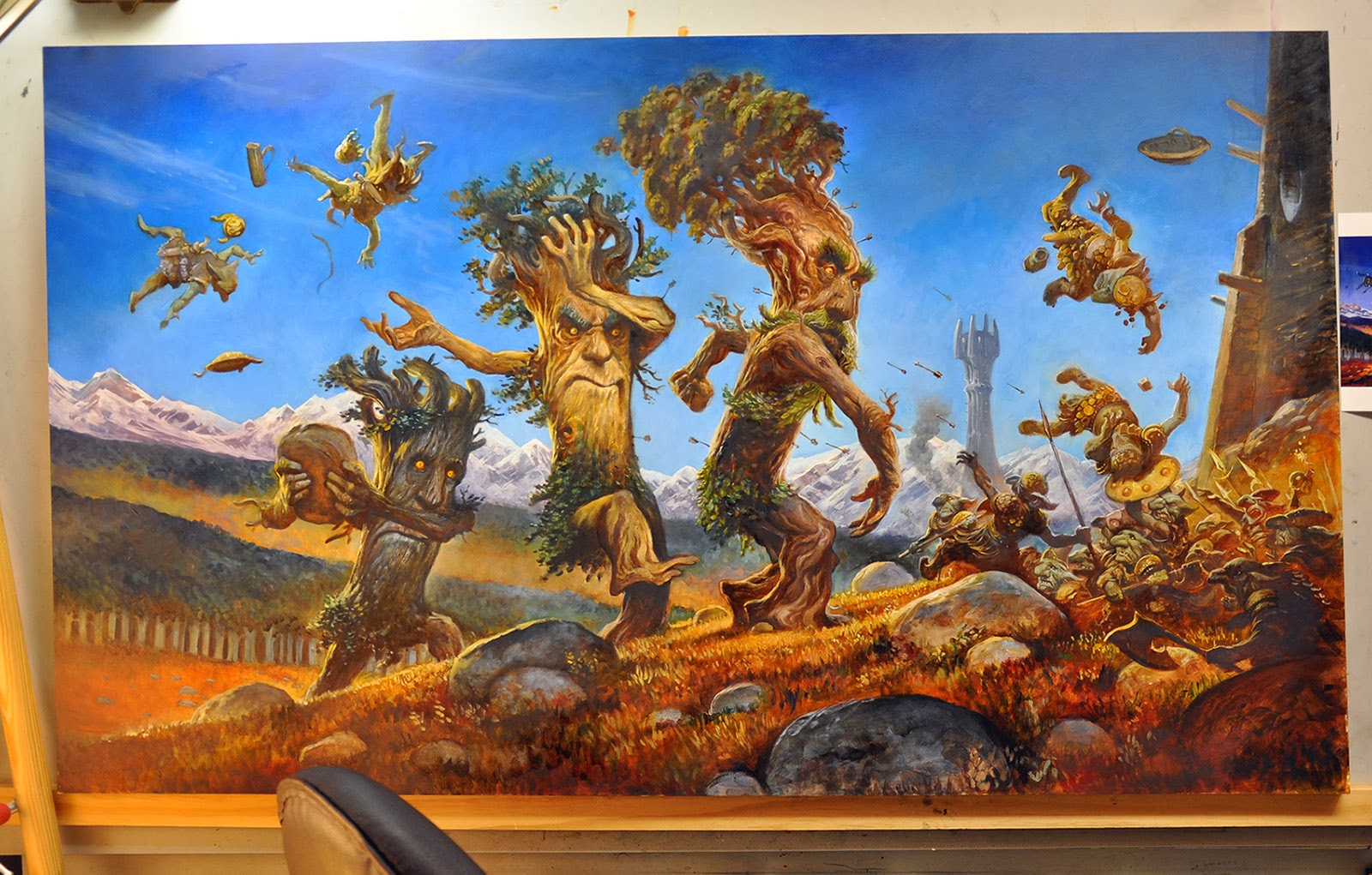The Ents Almost Finished…