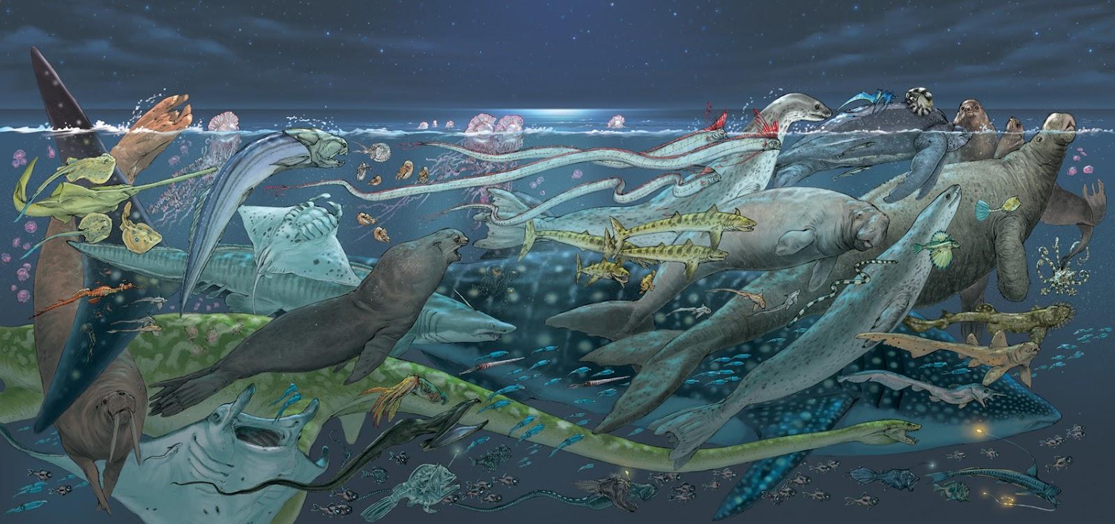 Paleo-Illustration Into Creature Design, A Natural Partnership