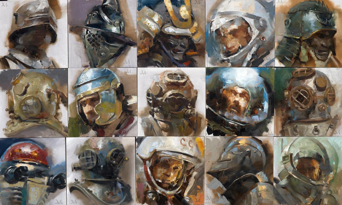 Helmets Set 2