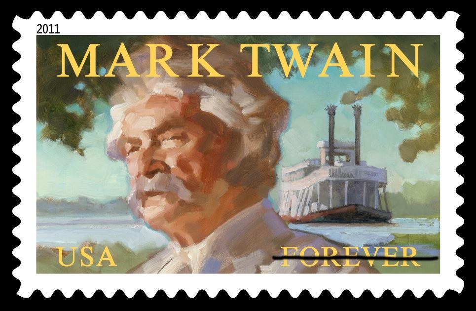 Mark Twain Stamp