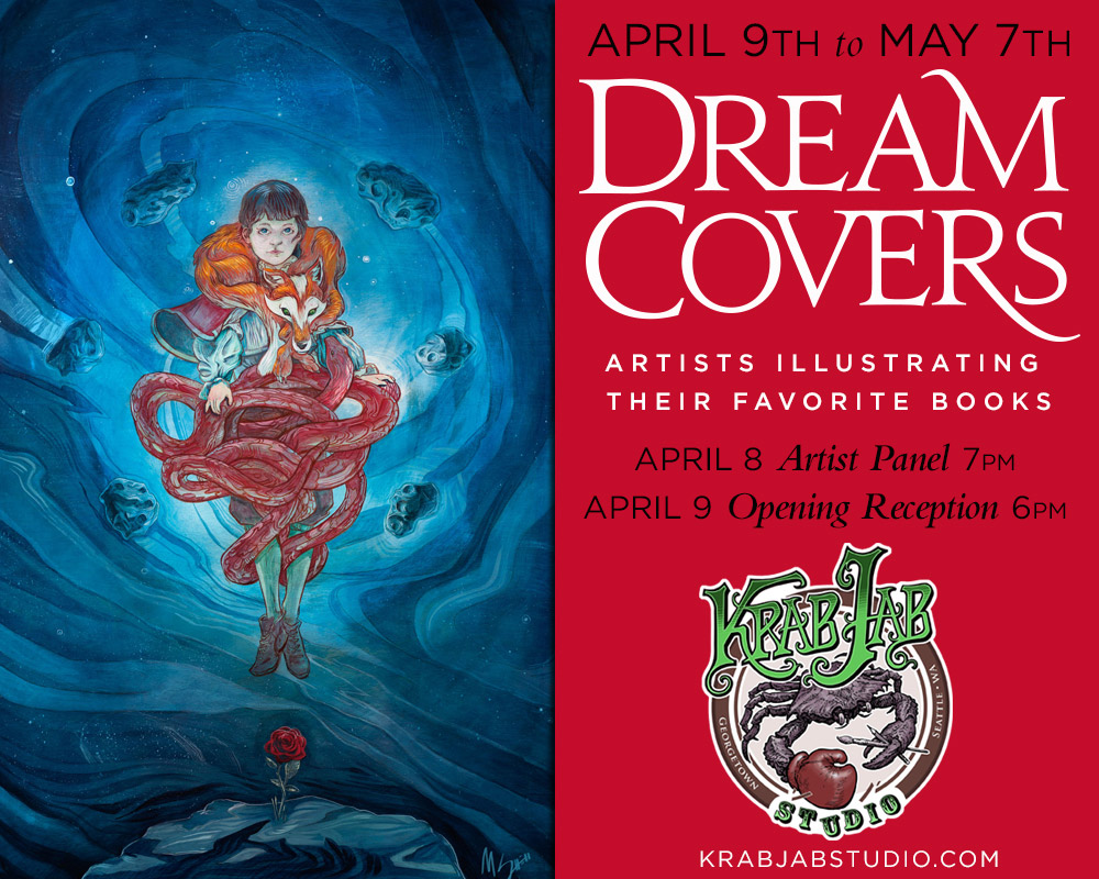 Dream Cover Show at Krab Jab Gallery