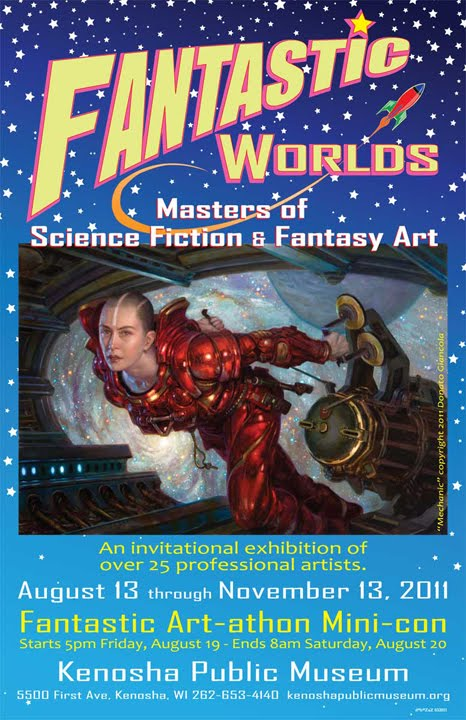 FANTASTIC WORLDS EXHIBITION