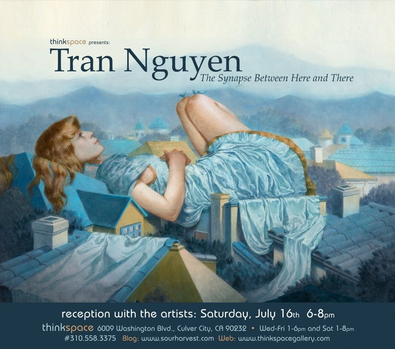 Upcoming Exhibitions: Tran Nguyen & Andrew Hem
