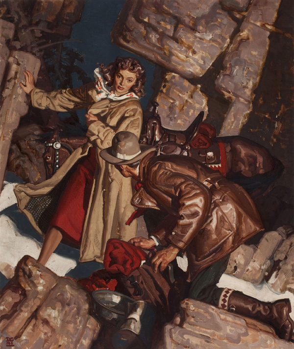A Closer Look : Dean Cornwell