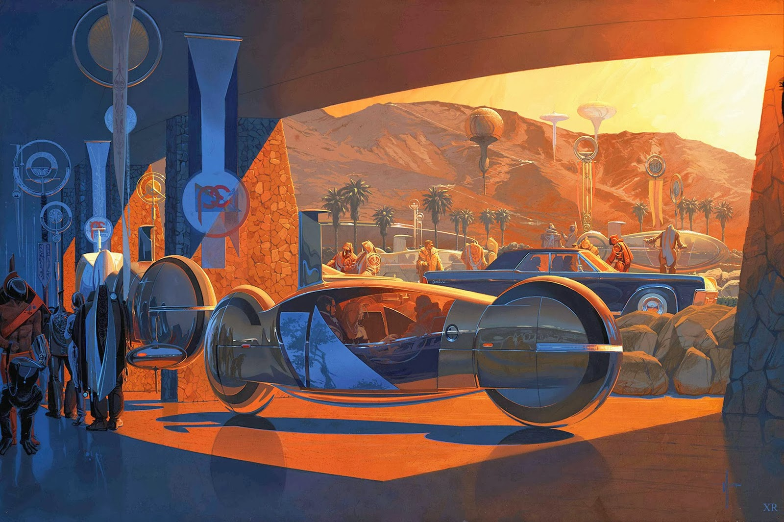 Syd Mead, Online Gallery