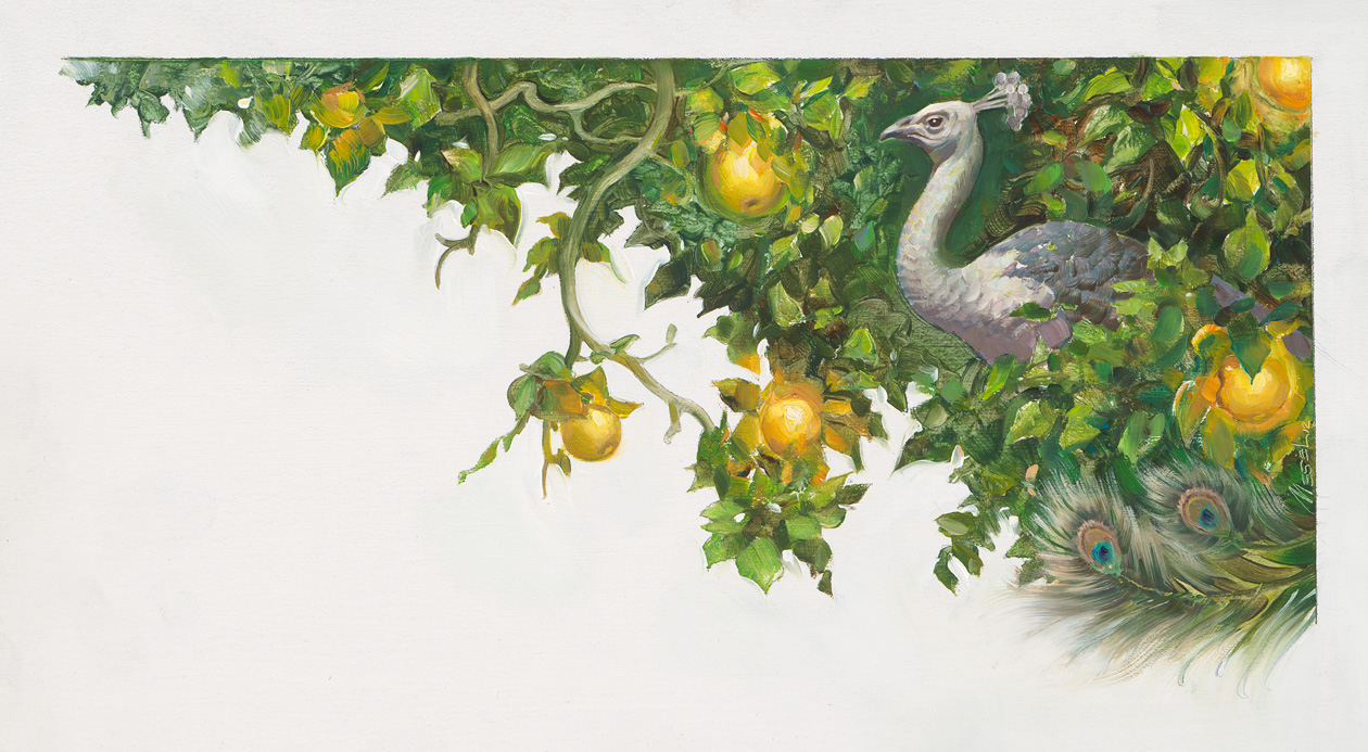 The Golden Apple-tree and the Nine Peahens