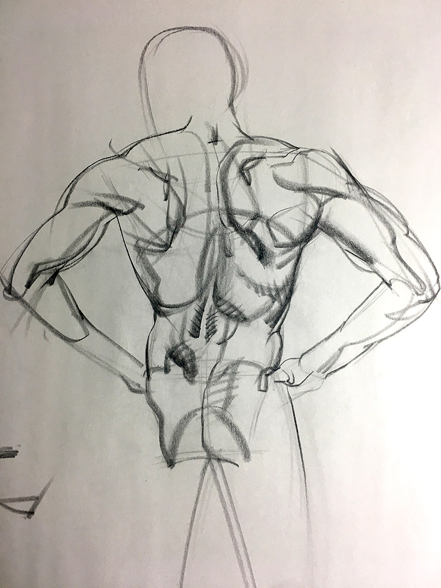 Gesture Drawing Is A Part of My Life