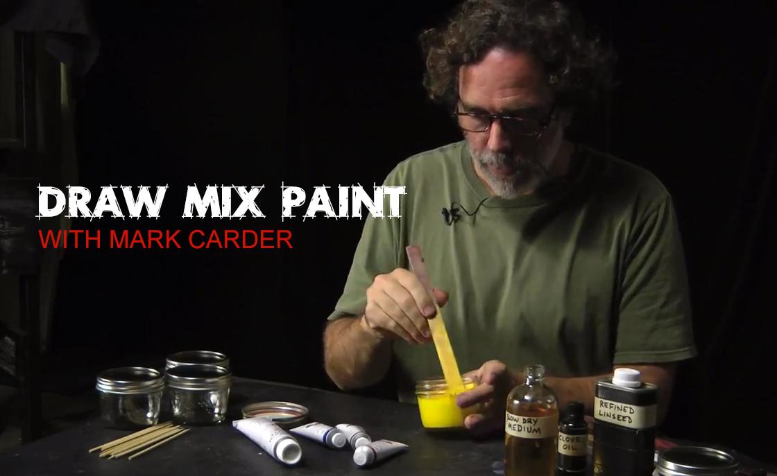 Draw, Mix, Paint