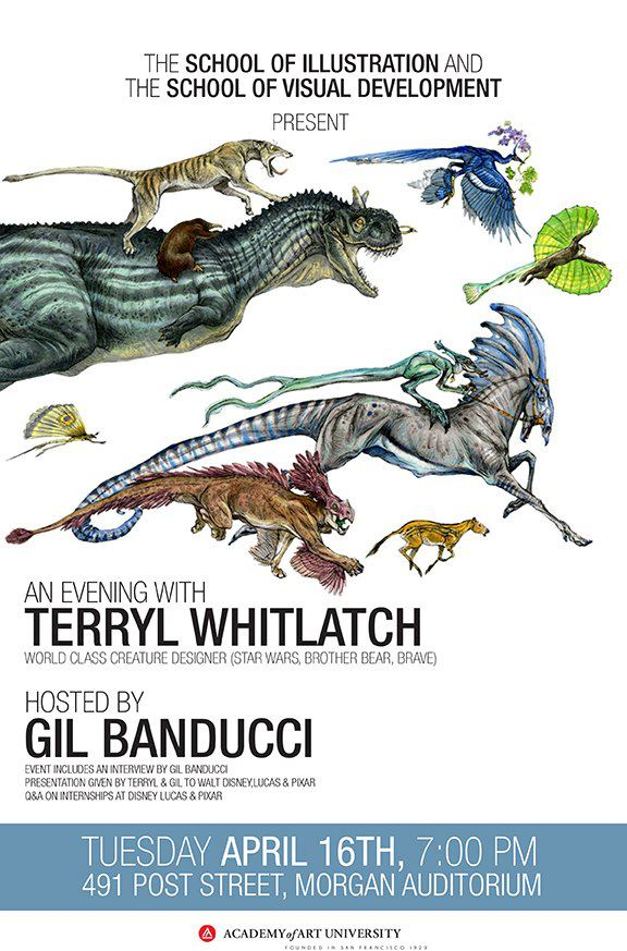 Free Lecture with Terryl Whitlatch