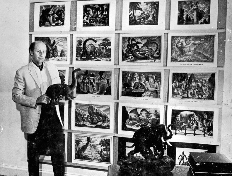 Drawings by Ray Harryhausen