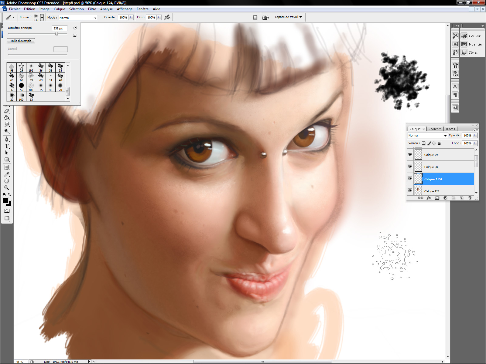 How to Paint Skin Digitally
