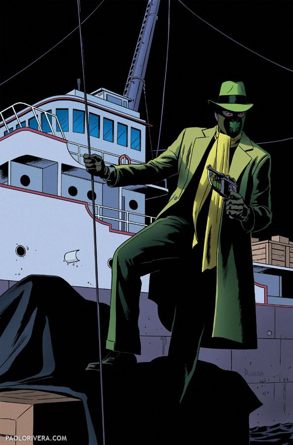 The Green Hornet, Covered