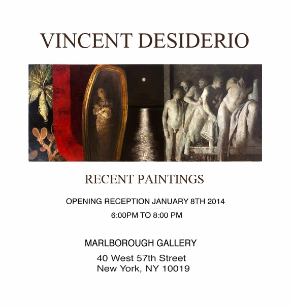 Vincent Desiderio – New Paintings and Opening