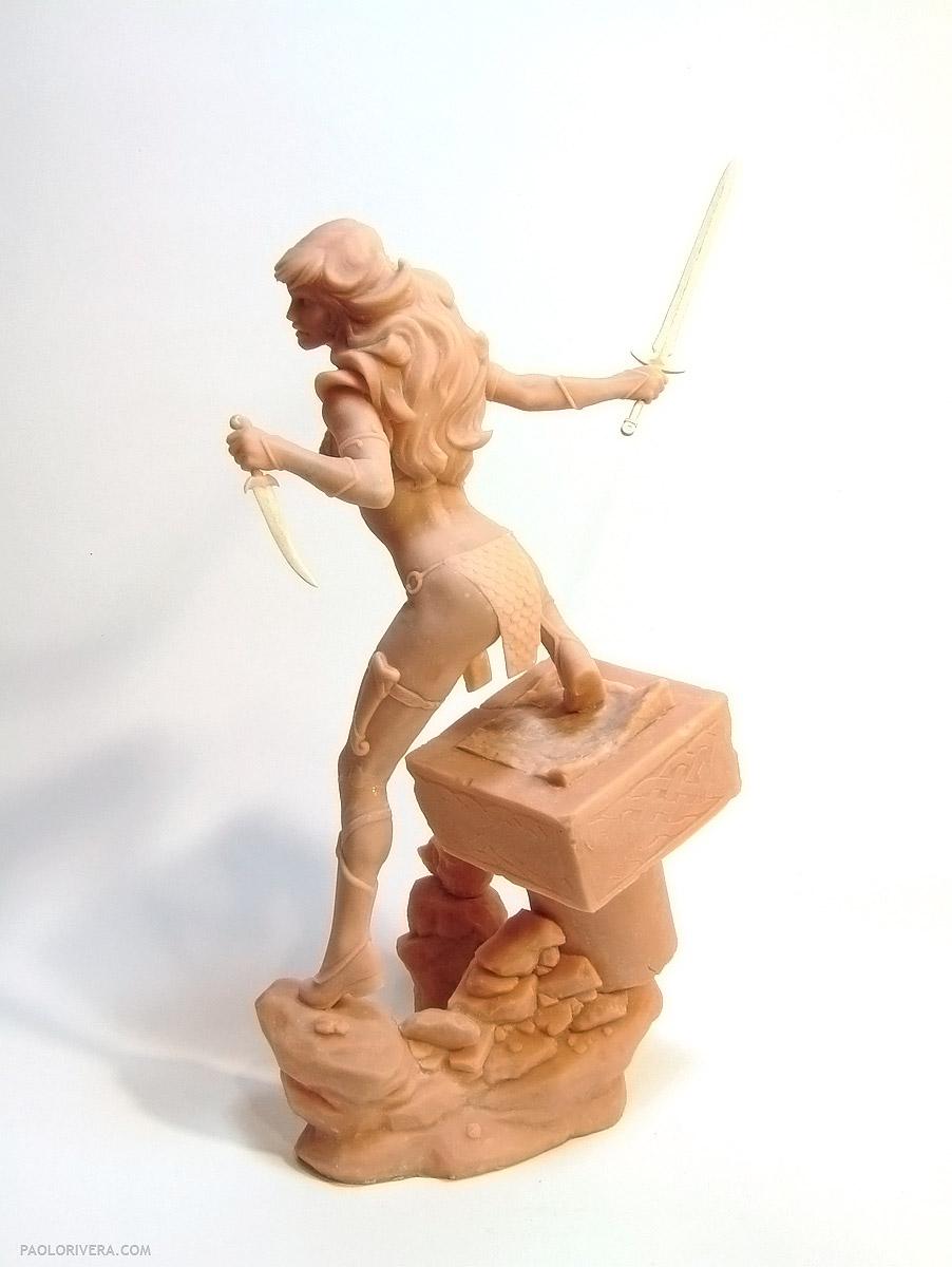 Red Sonja Sculpture