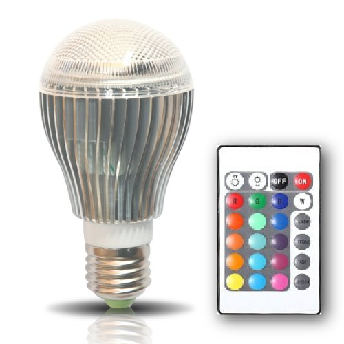 Studio Equipment: Color Changing Bulb
