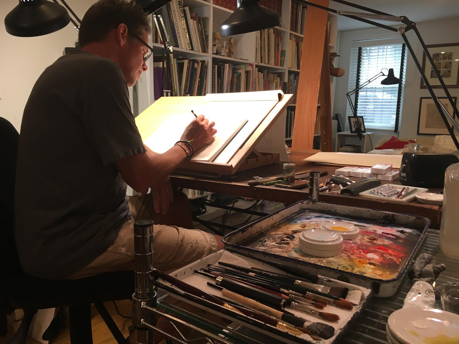 Studio Visit with Peter de Sève
