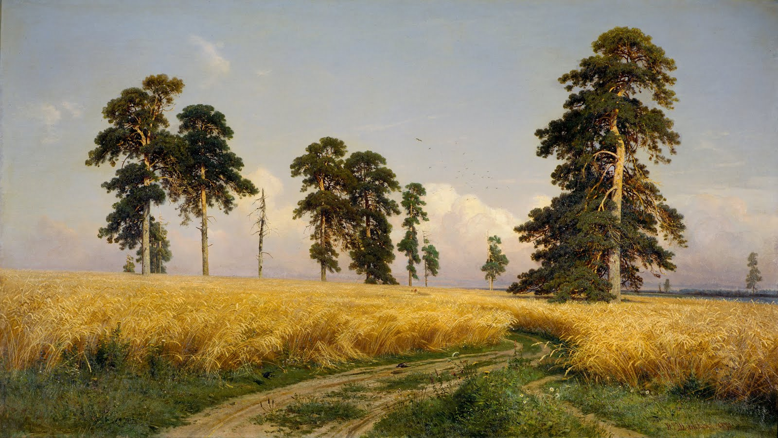 Shishkin's Trees