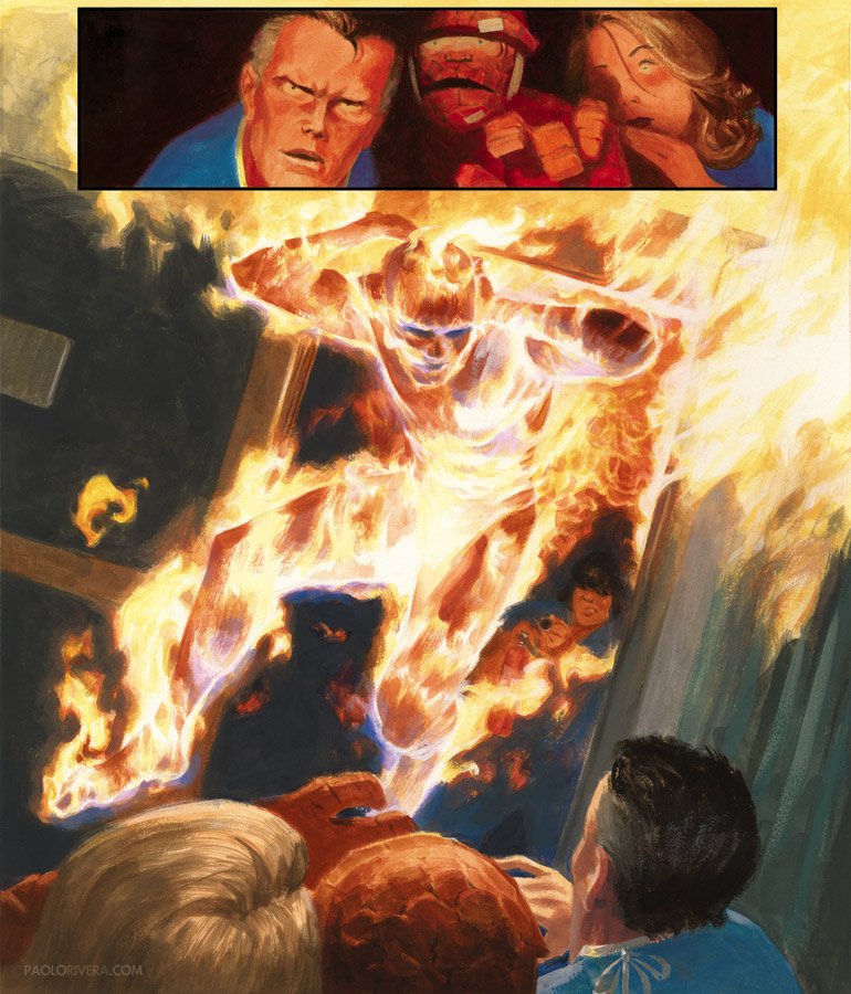 Painting the Fantastic Four