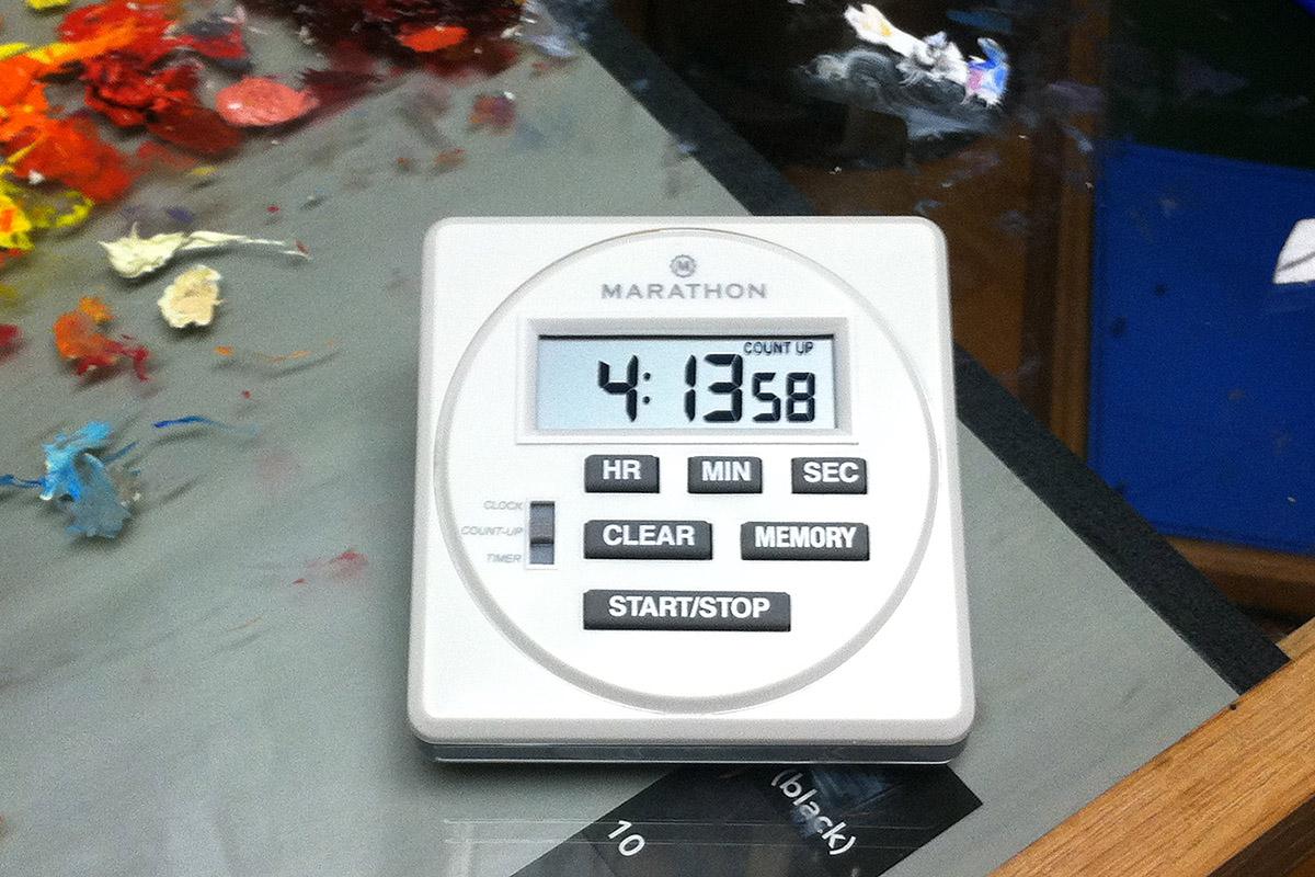 Studio Equipment: Timer