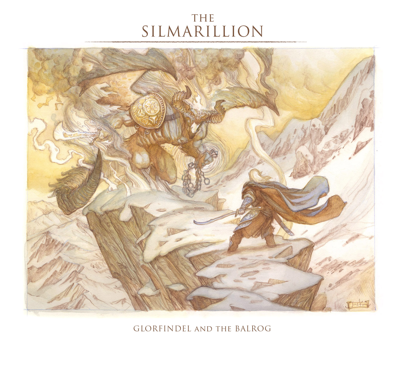 The Silmarillion: Glorfindel and the Balrog