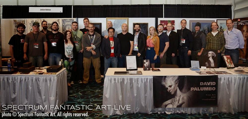 Spectrum Fantastic Art Live 4 Complete Program