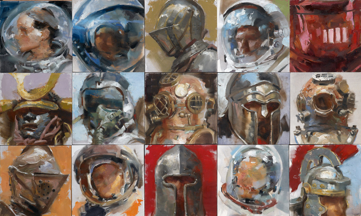 A Thing for Helmets