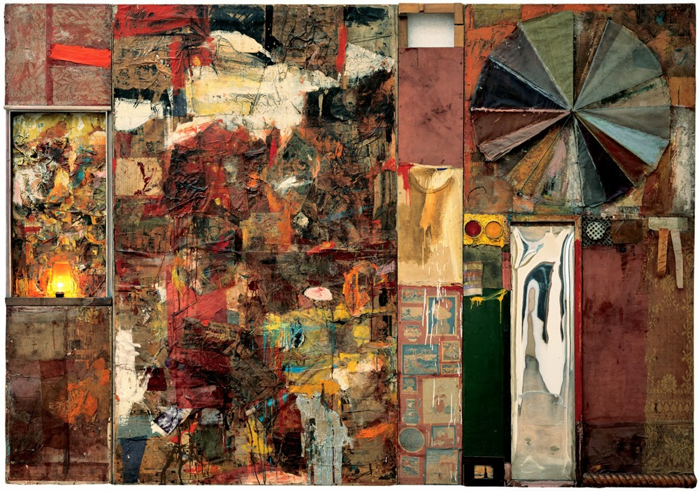 Artist of the Month: Rauschenberg